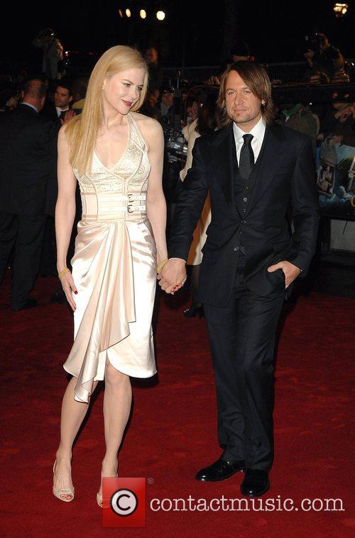 Nicole Kidman and Keith Urban World Premiere of...