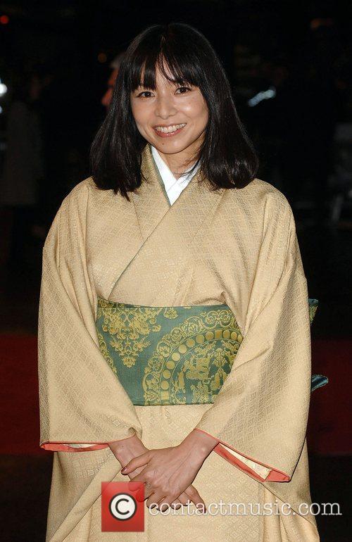 Tomoko Yamaguchi World Premiere of 'The Golden Compass'...