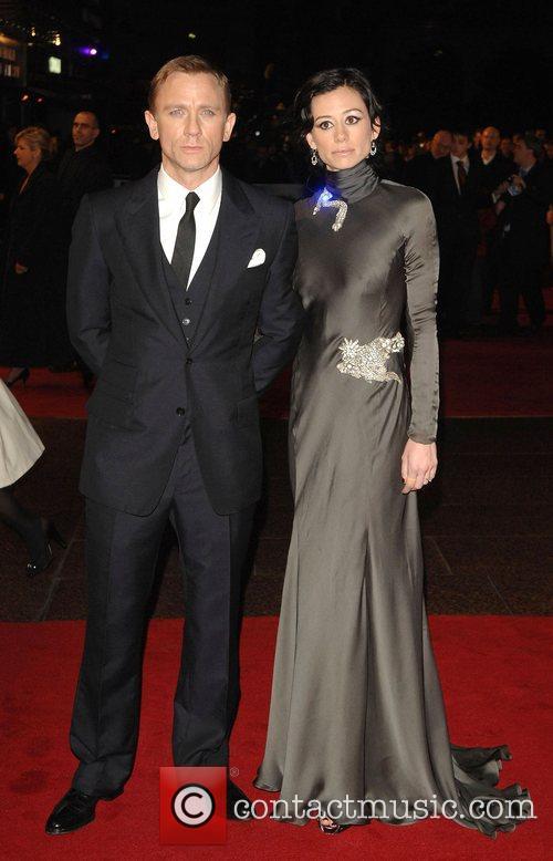 Daniel Craig and Girlfriend Satsuki Mitchell 1