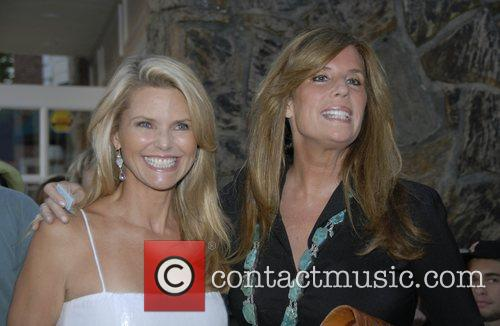 Christy Brinkley and Guest The Cinema Society and...