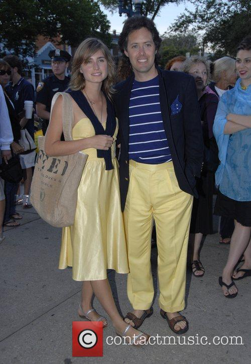 Lauren Bush and Guest The Cinema Society and...