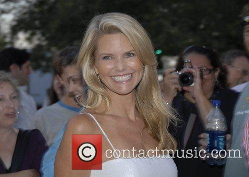 Christie Brinkley The Cinema Society and The Wall...