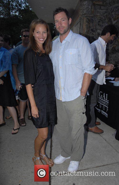 Christy Turlington and Ed Burns The Cinema Society...