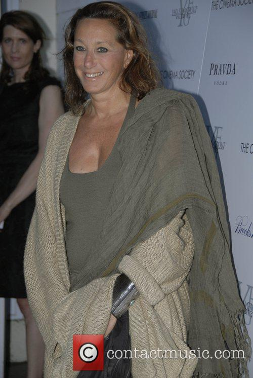 Donna Karan The Cinema Society and The Wall...