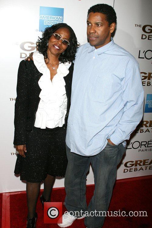 Pauletta Pearson Washington and Denzel Washington New York...