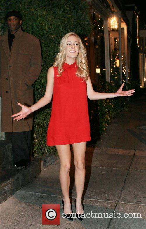 Leaving Koi Restaurant after the season finale of...