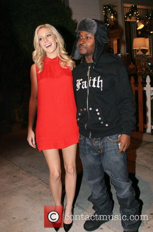Heidi Montag, Guest leaving Koi Restaurant after the...