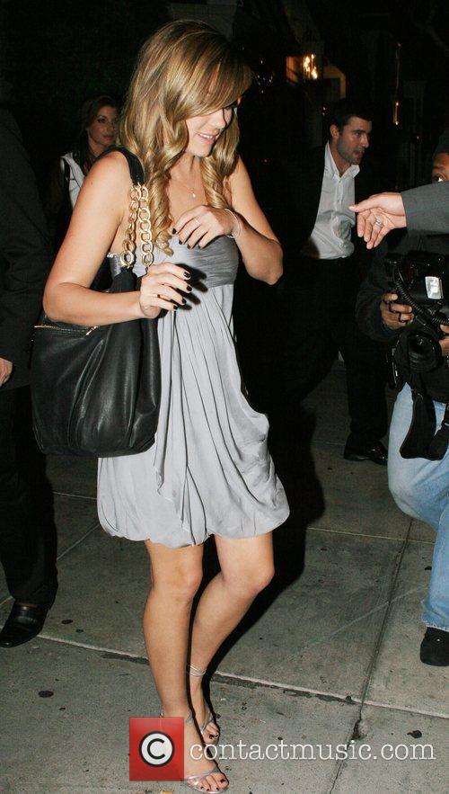Lauren Conrad aka L.C and Brody Jenner leaving...