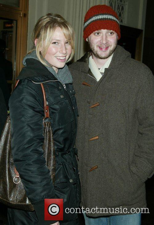 Ari Graynor and Eddie Kaye Thomas Opening night...
