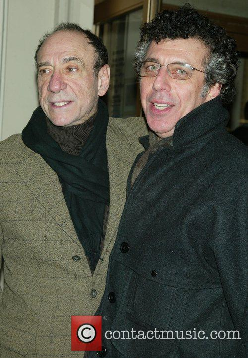 F. Murray Abraham and Eric Bogosian Opening night...