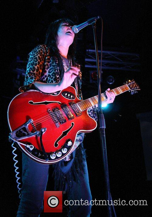 Of The kills playing live at the Liquid...
