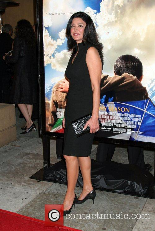 Shohreh Aghdashloo Premiere of 'The Kite Runner' held...