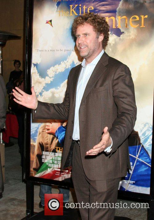 Will Ferrell Premiere of 'The Kite Runner' held...