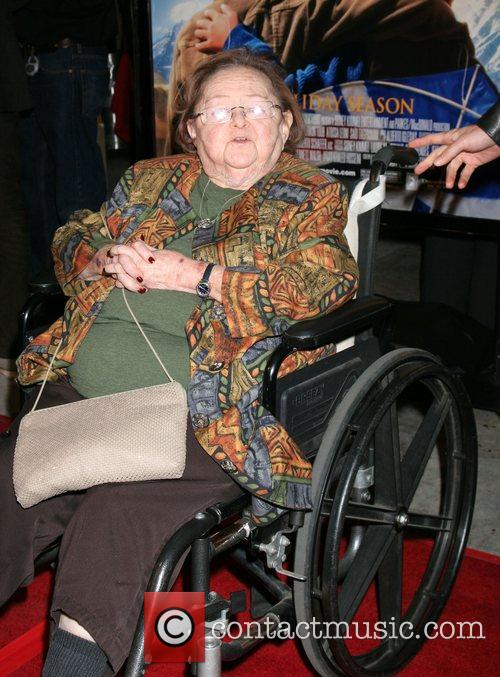 Zelda Rubinstein Premiere of 'The Kite Runner' held...