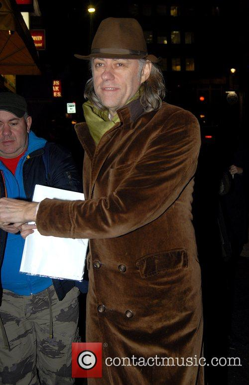 Bob Geldof The Lover/The Collection Press night held...