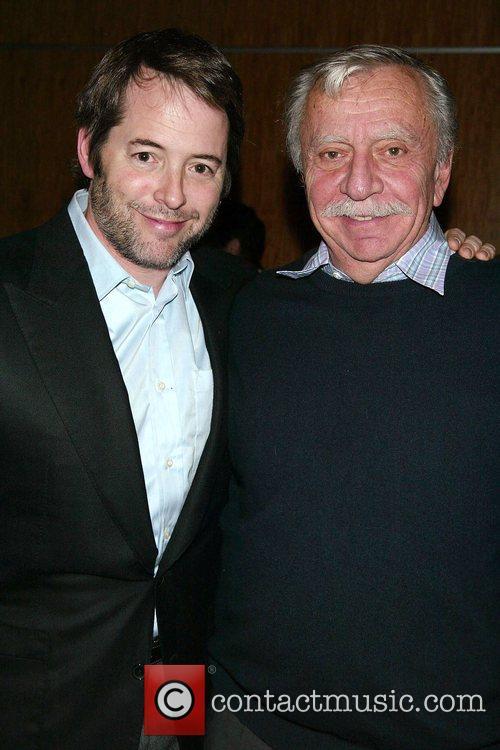 Matthew Broderick & Emanuel Azenberg  The New...