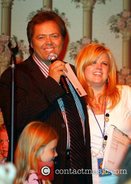 Jimmy Osmond, Michelle Larson The Osmond's 50th Anniversary...