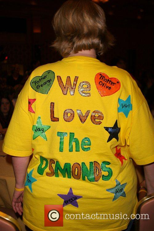 Fans The Osmond's 50th Anniversary after party at...