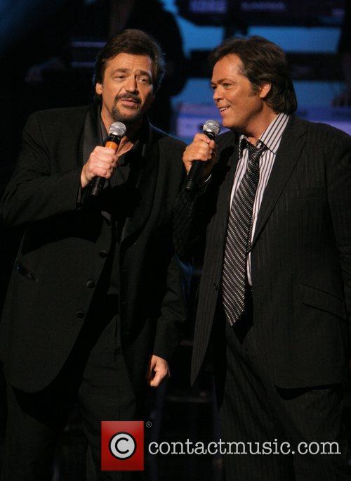 Jay Osmond and Jimmy Osmond The Osmonds celebrate...