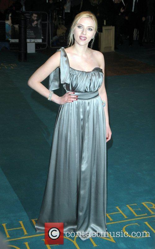 Scarlett Johansson UK premiere of 'The Other Boleyn...