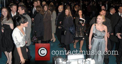 Lily Allen and Scarlett Johansson UK premiere of...