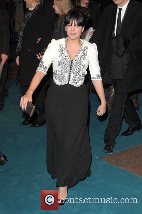 Lily Allen UK premiere of 'The Other Boleyn...