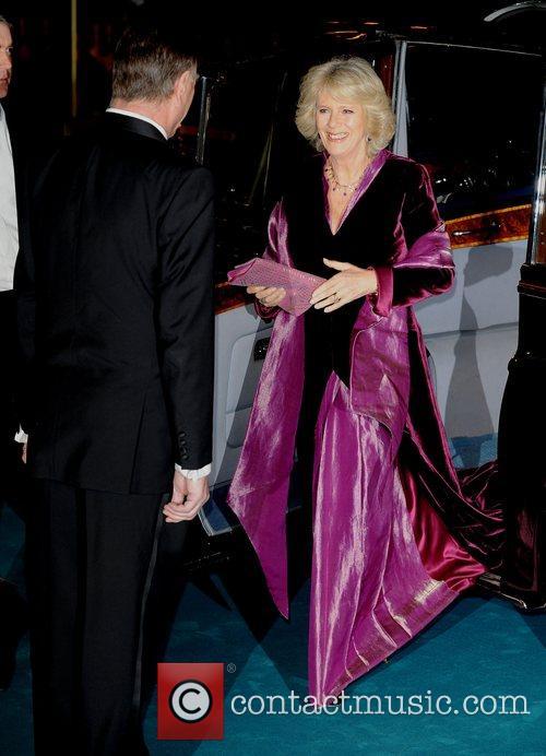 Duchess of Cornwall, Camilla Parker Bowles UK Premiere...