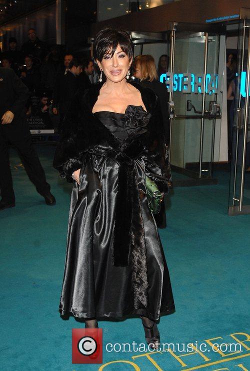 Nancy Del'Olio UK Premiere of 'The Other Boleyn...