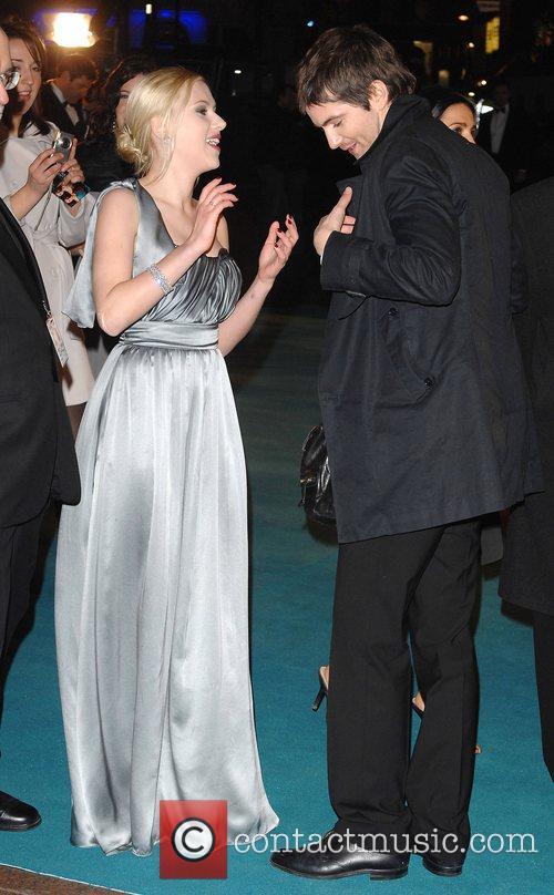 Scarlett Johansson and Jim Sturgess UK Premiere of...