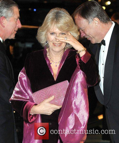 The Duchess of Cornwall, Camilla UK Premiere of...