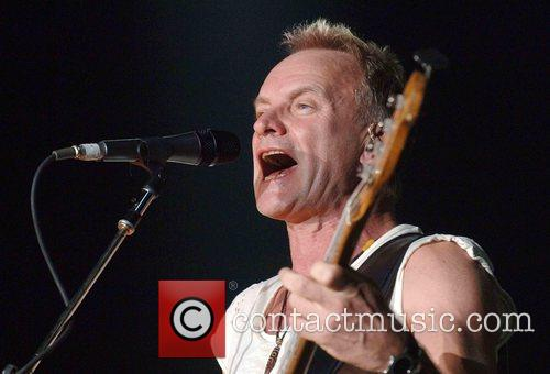 Sting The Police perform at Wembley Arena London,...