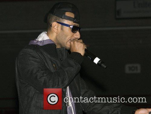 Swizz Beatz  perform on stage at Tha...
