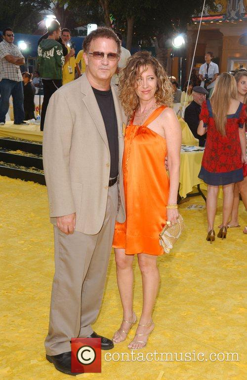 Albert Brooks and wife 'The Simpsons Movie' premiere...