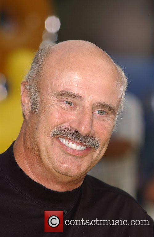 Dr Phil McGraw 'The Simpsons Movie' premiere at...
