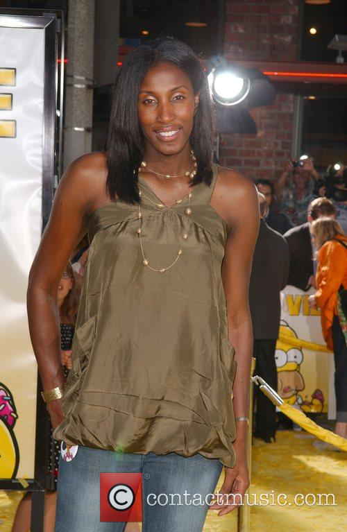 Lisa Leslie 'The Simpsons Movie' premiere at the...