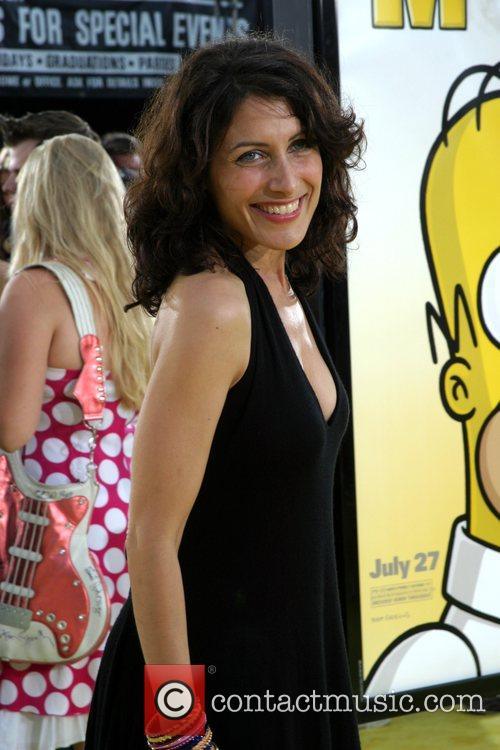 Lisa Edelstein 'The Simpsons Movie' premiere at the...