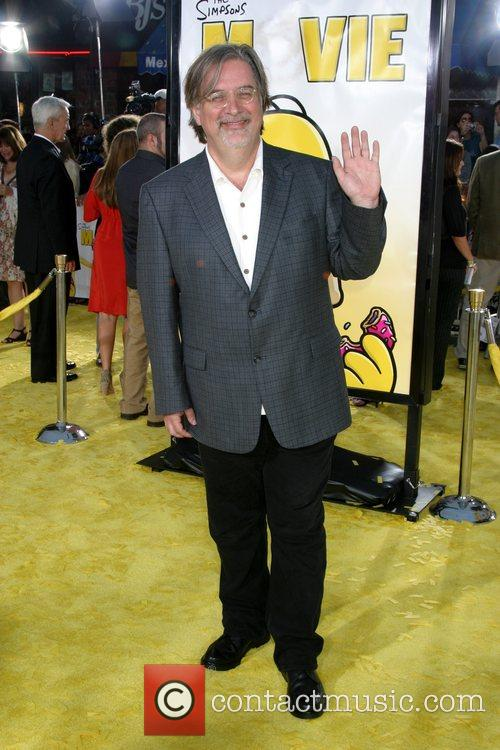 Matt Groening 'The Simpsons Movie' premiere at the...