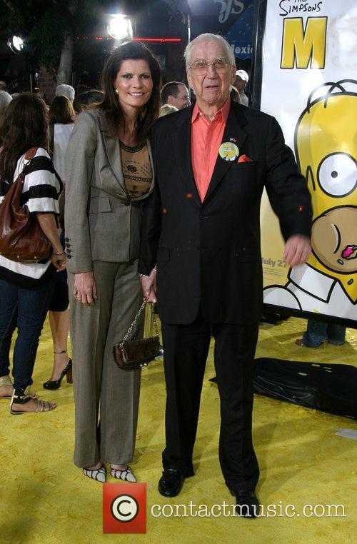 Ed McMahon and Guest 'The Simpsons Movie' premiere...
