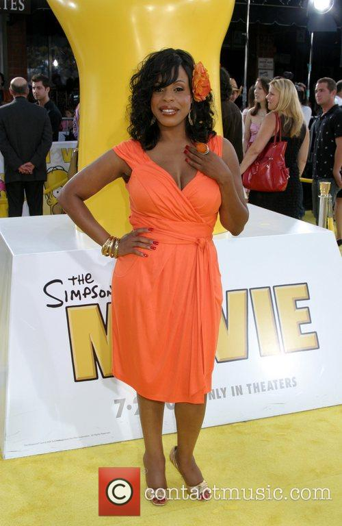 Niecy Nash 'The Simpsons Movie' premiere at the...