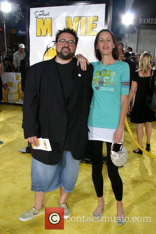 Kevin Smith and Jennifer Schwalbach Smith 'The Simpsons...