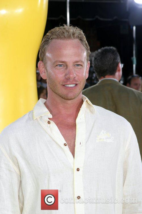 Ian Ziering 'The Simpsons Movie' premiere at the...