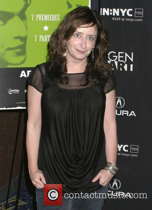 Rachel Dratch attends the premiere of the short...