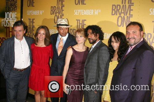 Neil Jordan, Jodie Foster, Jordan, Naveen Andrews and Terrence Howard 2