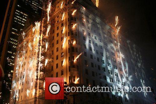 Plaza 100th Birthday Fireworks The 100th Birthday of...