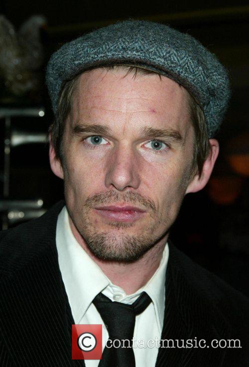 Ethan Hawke Attending the Opening Night after party...