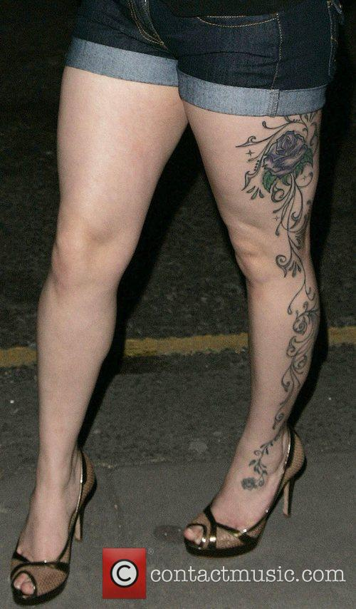 Flower Tattoo Mutya Buena