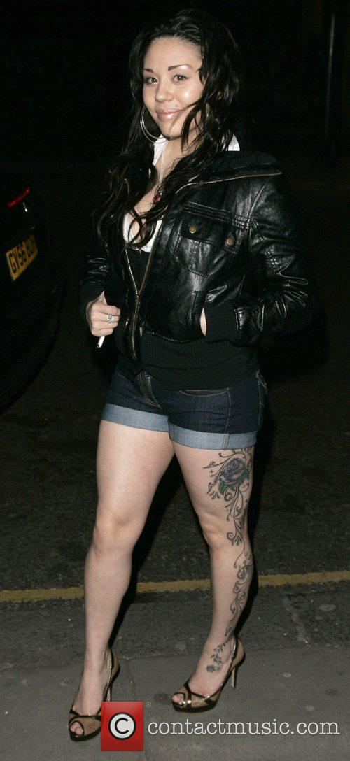 they kick her out?? yer wan Mutya has the sexiest tattoo iv ever seen it