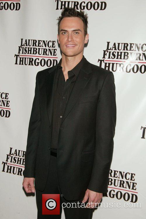 Cheyenne Jackson Opening night afterparty of 'Thurgood' at...