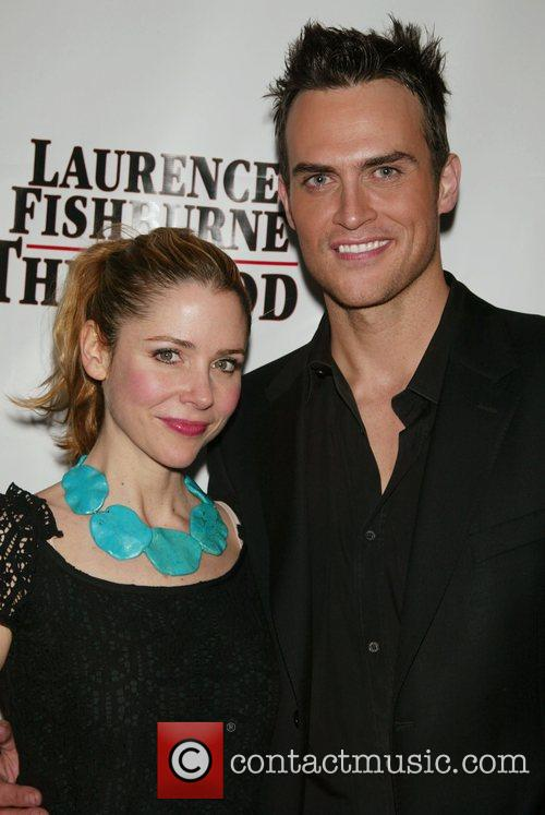 Kerry Butler and Cheyenne Jackson Opening night afterparty...