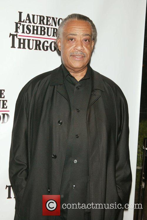 Reverend Al Sharpton Opening night afterparty of 'Thurgood'...